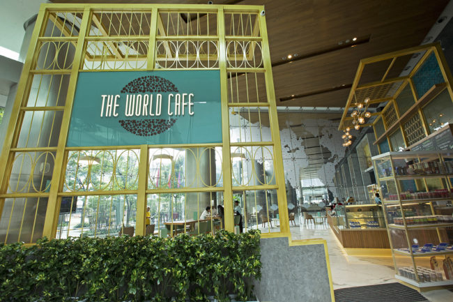 The World Cafe, Sheraton Grand Bangalore