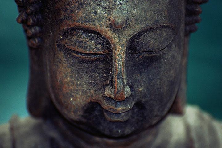 Blissful like Buddha