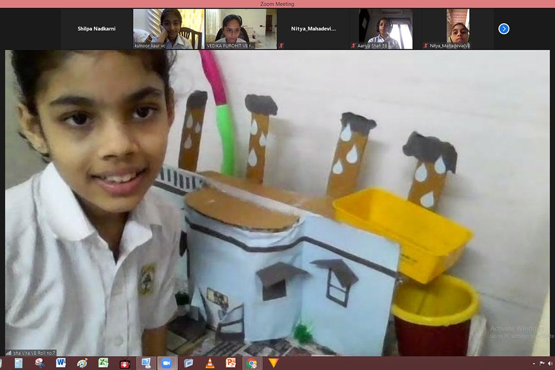Jasudben ML School honours Dr. APJ Abdul Kalam's Birthday with virtual STEM Exhibition