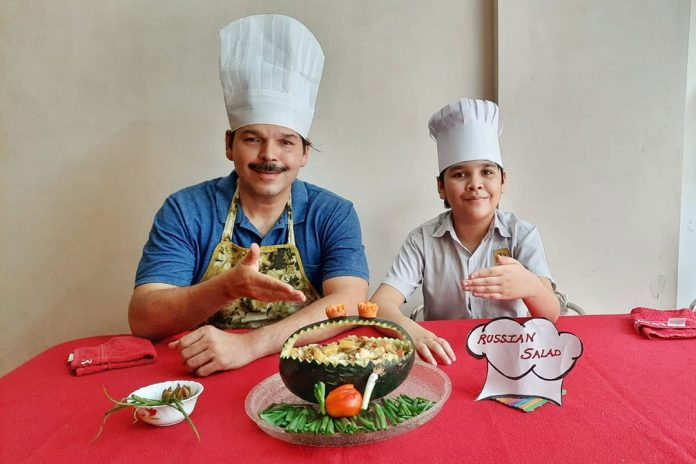 Students of Jasudben ML School Pre celebrated World Food day by Acquiring food Sustainability