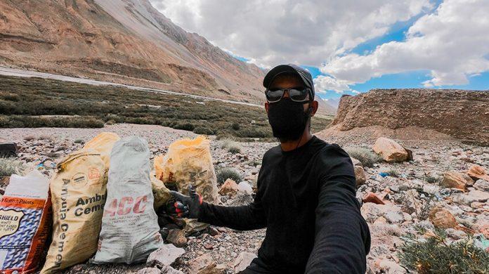 Aakash Ranison Sustainability Influencer Responsible Traveller Blogger Climate Activist India