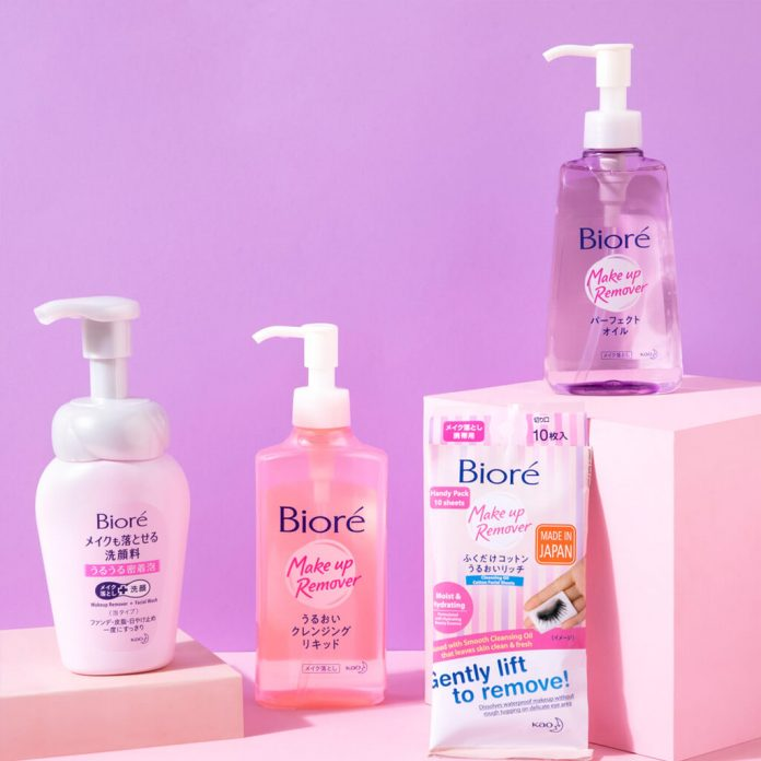 Japanese skincare brand Bioré India launches its Makeup Remover range in India