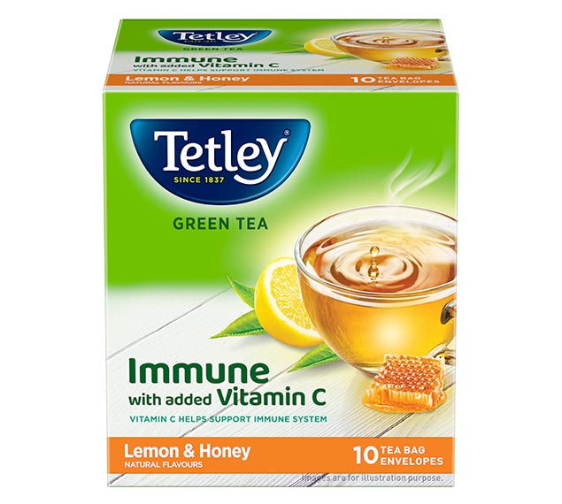 TETLEY INDIA REDEFINES THE GREEN TEA CATEGORY WITH THE LAUNCH OF 'GREEN TEA IMMUNE'